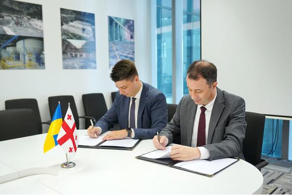 Грузія та Україна співпрацюватимуть у сфері енергоефективності та екологічної енергетики