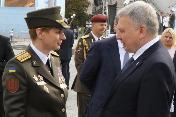 Вперше в Україні жінці було присвоєно звання бригадного генерала ЗСУ